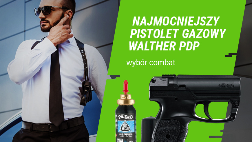 Pistolet gazowy Walther PDP