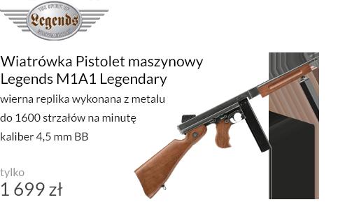 Wiatrówka Pistolet maszynowy Legends M1A1 Legendary