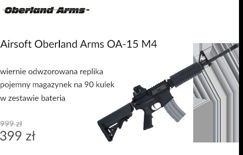Karabinek ASG Oberland Arms OA-15 M4