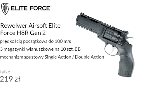 Rewolwer Airsoft Elite Force H8R Gen 2