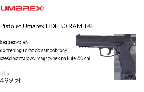 Pistolet Umarex HDP 50 RAM T4E