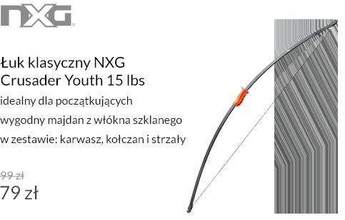 Łuk klasyczny NXG Crusader Youth 15 lbs