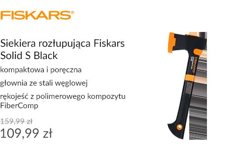Siekiera rozłupująca Fiskars Solid S Black