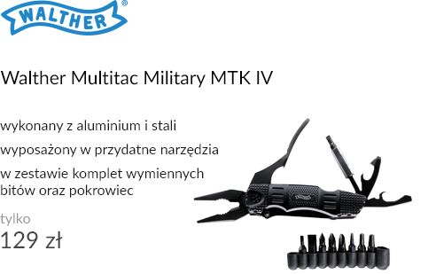 Multitool Walther Multitac Military MTK IV