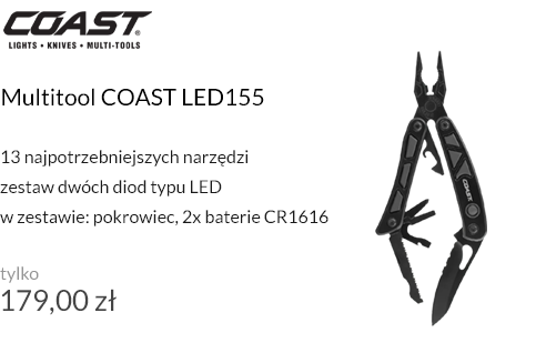 Multitool COAST LED155