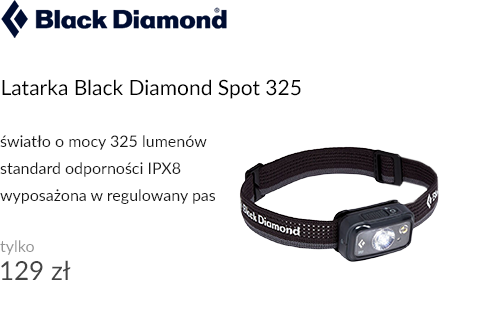 Latarka czołowa Black Diamond Spot 325 Graphite