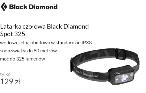 Latarka czołowa Black Diamond Spot 325