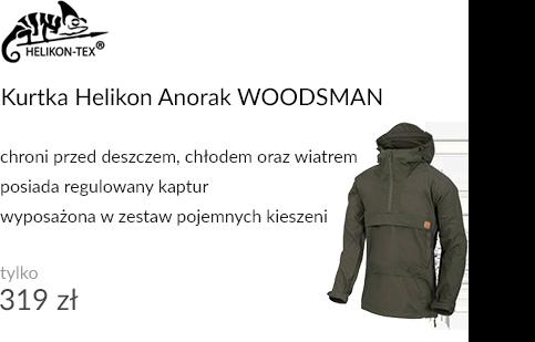 Kurtka Helikon Anorak WOODSMAN Taiga Green