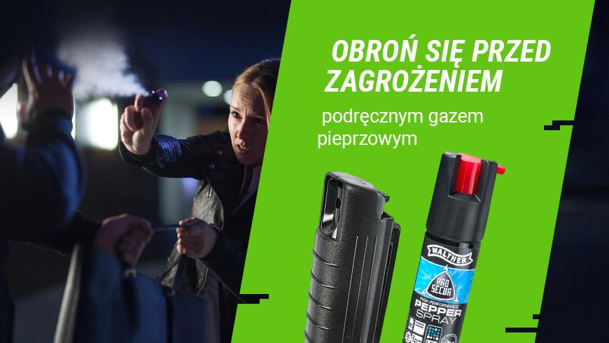 gaz pieprzowy - ochroń się przed zagrożeniem