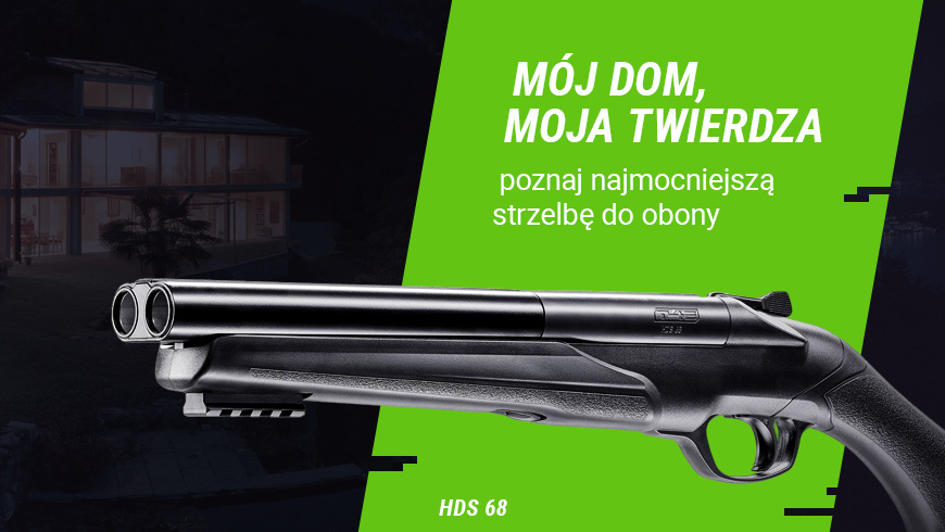 Umarex HDS 68 T4E, najmocniejsza stzrelba do obrony