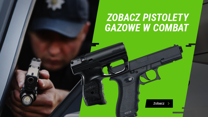 Pistolety gazowe - pełna oferta