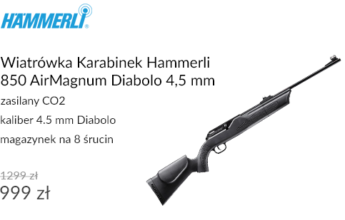 Wiatrówka Karabinek Hammerli 850 AirMagnum Diabolo 4,5 mm