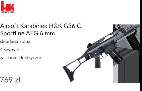 Airsoft Karabinek H&K G36 C Sportline AEG 6 mm