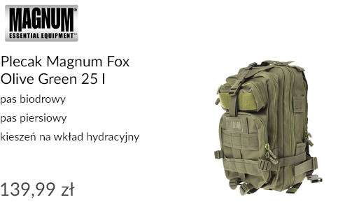 Plecak Magnum Fox Olive Green 25 l